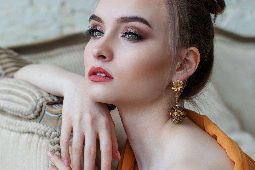 Gold Earrings,